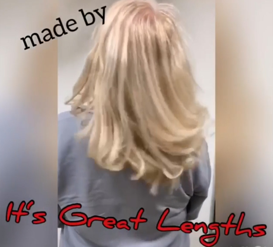 Great Lengths - Haarverdichtung 30 cm