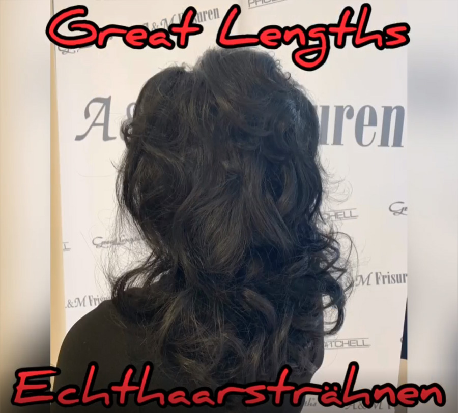 Great Lengths - Haarverlängerung 30 cm