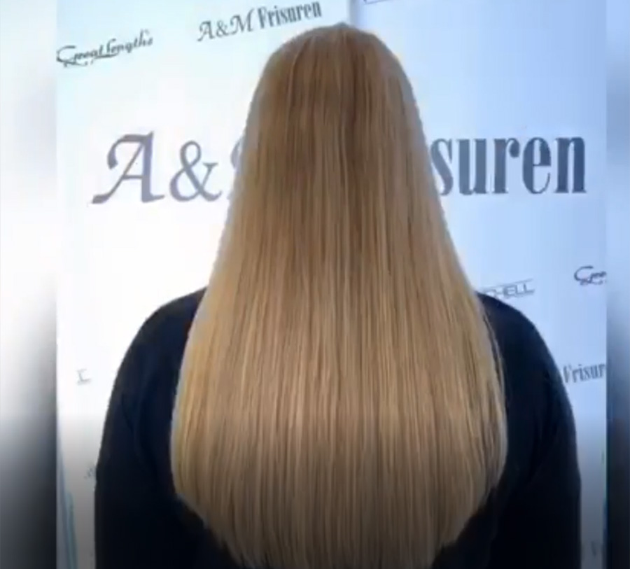 Great Lengths - Haarverlängerung 40 cm