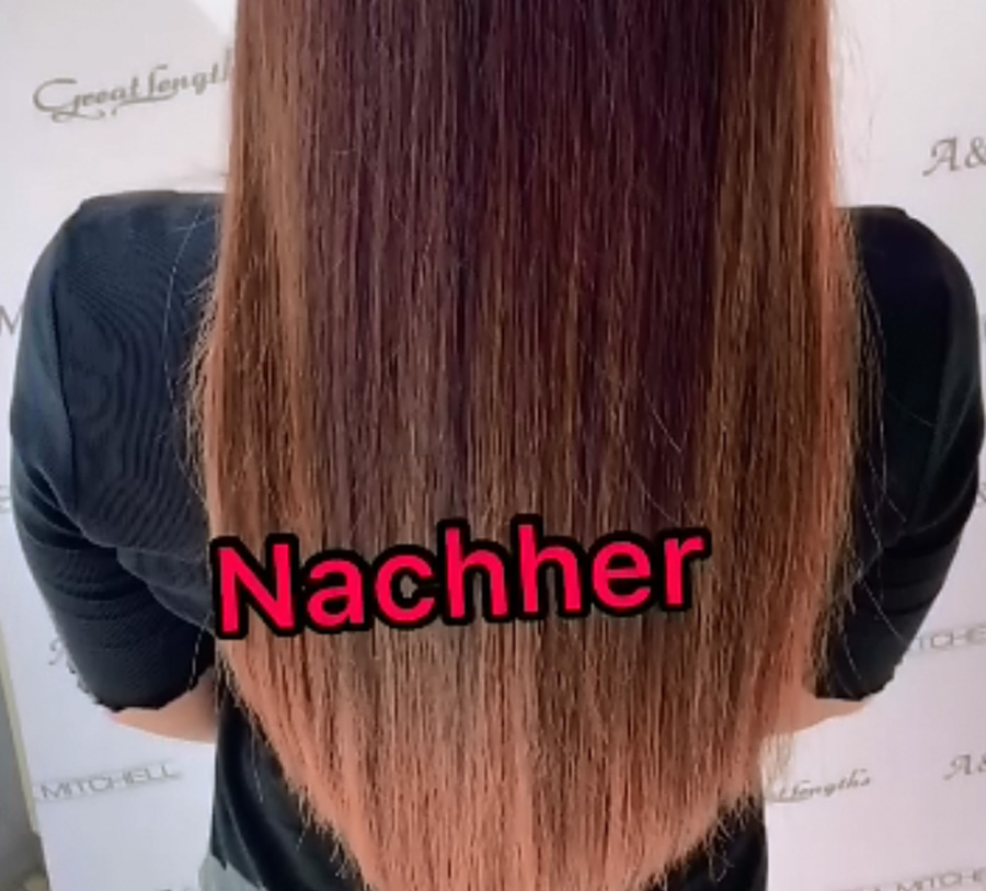 Great Lengths Haarverlängerung